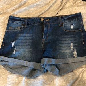 Altar'd State Denim shorts